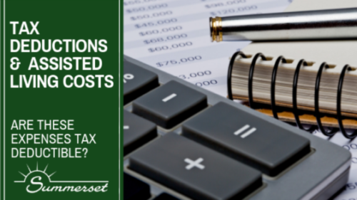 Assisted Living Costs And Tax Deductions
